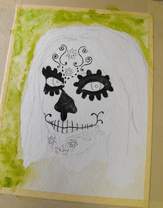 Day of the Dead WIP