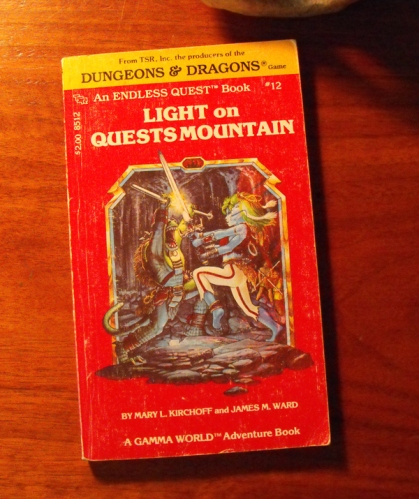 Dungeons and Dragons Endless Quest Book