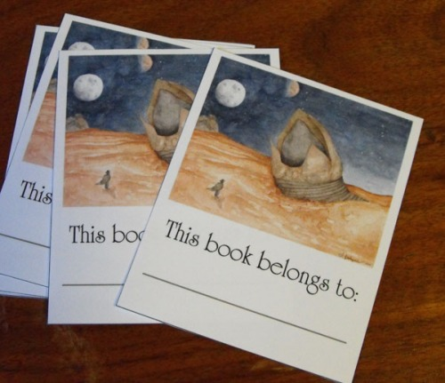 The Maker Bookplates by Amanda Makepeace