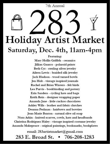 283 Holiday Artist Market