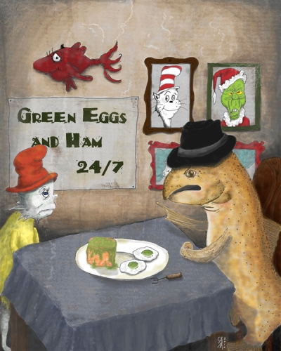 Green Eggs and Spam?!