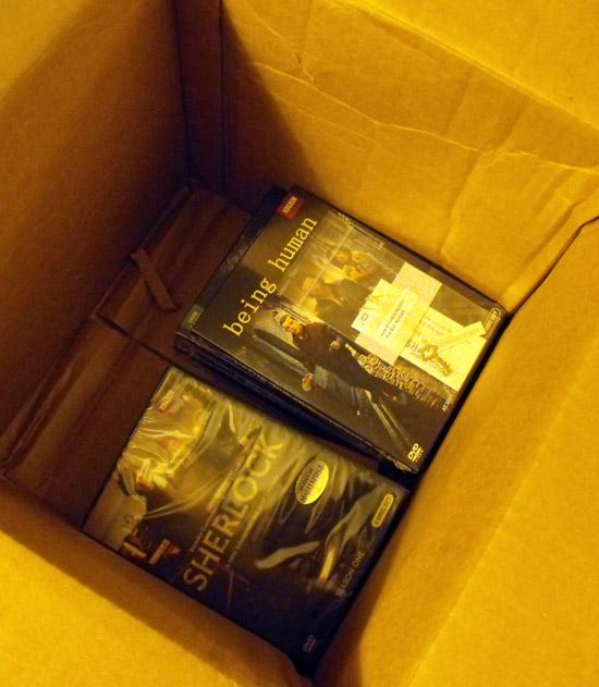 BBC America DVDs