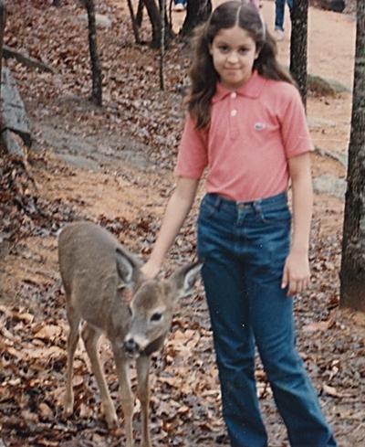 Me, age 8