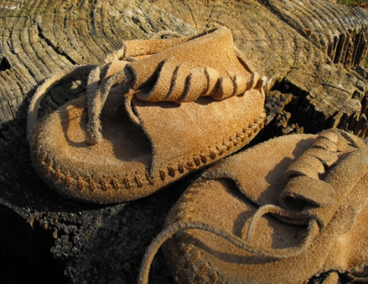 Moccasins I once Wore