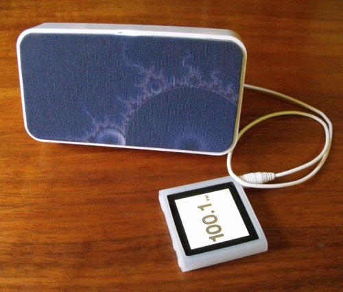 Doodle Speaker and iPod