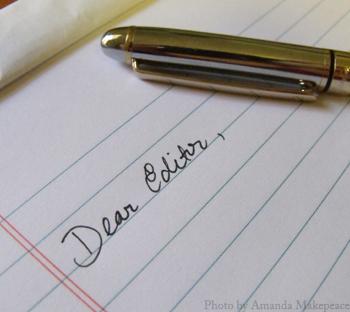 cover letter short story